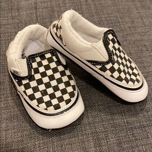 Toddler Checkered Classic Vans